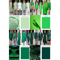 Главный оттенок нового сезона - Greenery или цвет молодой травы