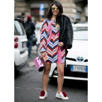 Уличные белые кроссовки