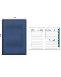 Ежедневник датированный А5 синий