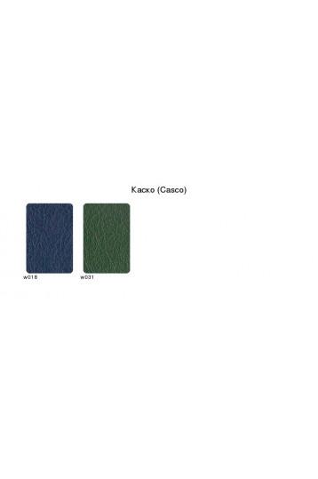 Ежедневник датированный А5 Каско зелёный, серо-синяя печать
