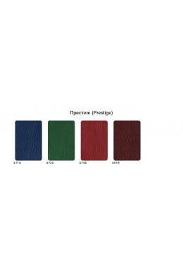 Ежедневник датированный А5 Престиж красный, серо-синяя печать