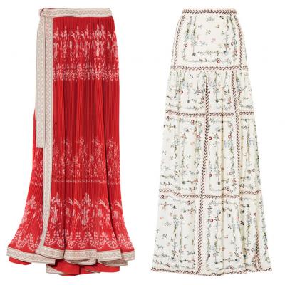Самые красивые длинные юбки