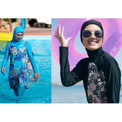 Буркини – костюмы для плавания и занятий спортом