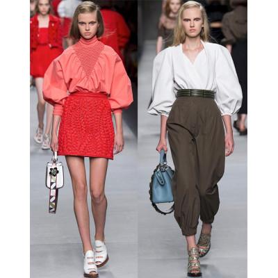 Модные блузы весна-лето 2016