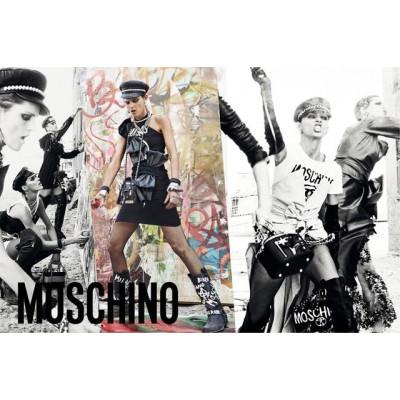 Бунтарство в новой рекламной кампании Mosсhino