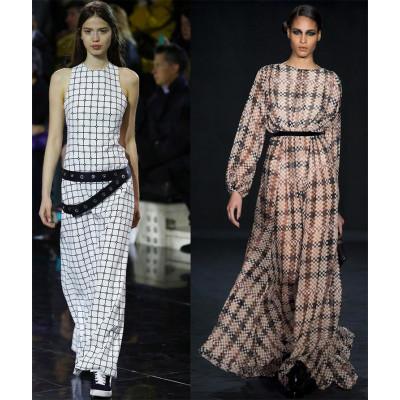 Платья в клетку – тренд будущего модного сезона