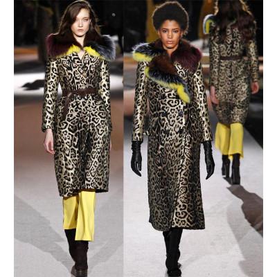 Леопардовый принт в женской моде осень 2016
