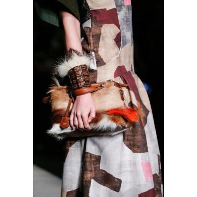 Меховые вставки – модная тенденция зимы 2016