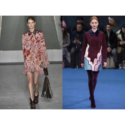 Модные ткани и рисунки сезона 2016 – 2017 года