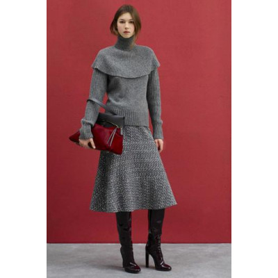 Модный трикотаж осенью 2017