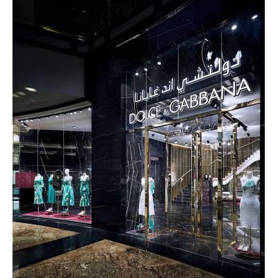 Dolce & Gabbana открыли свой бутик в Дубаи