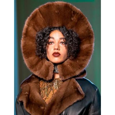 Роскошные меховые головные уборы от Готье в коллекции 2017 года