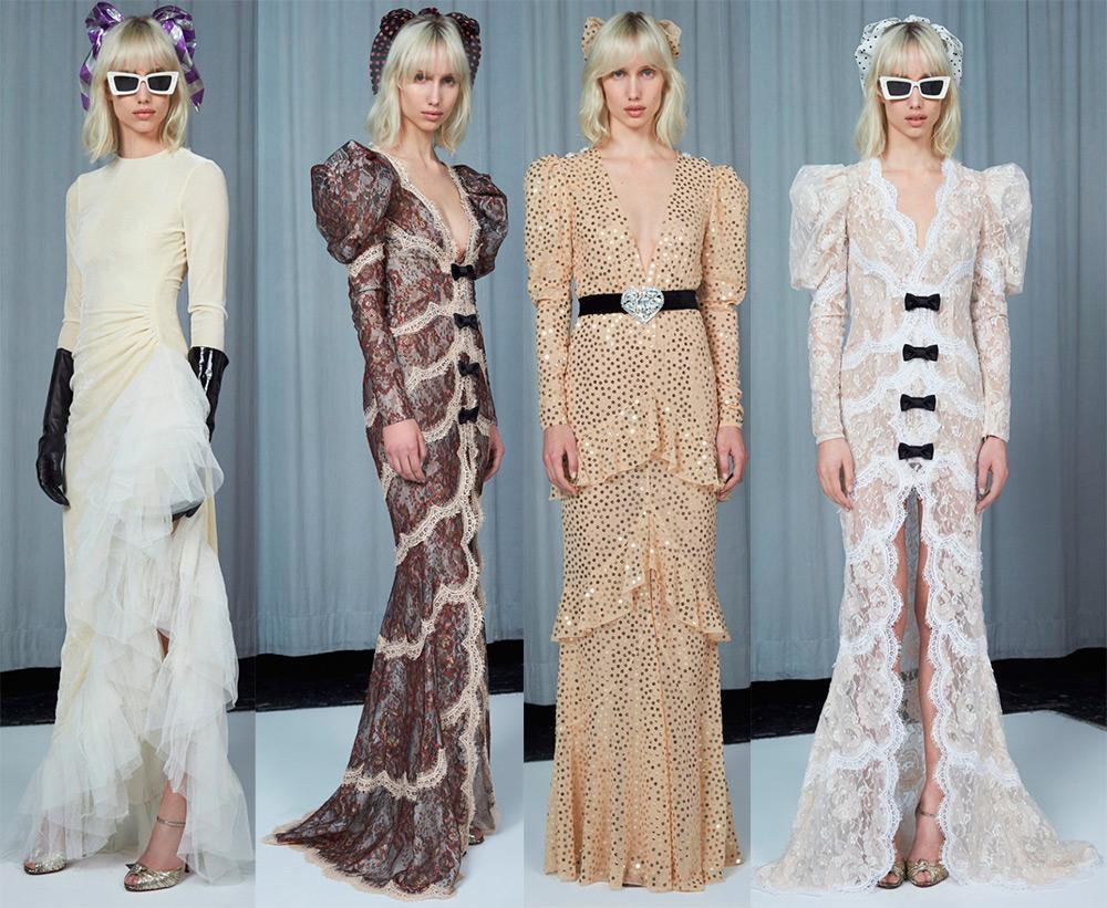 Платья из прошлого от Alessandra Rich