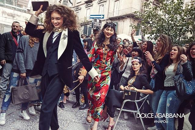 Сотрудничество Dolce&Gabbana с фотографом Франко Пажетти