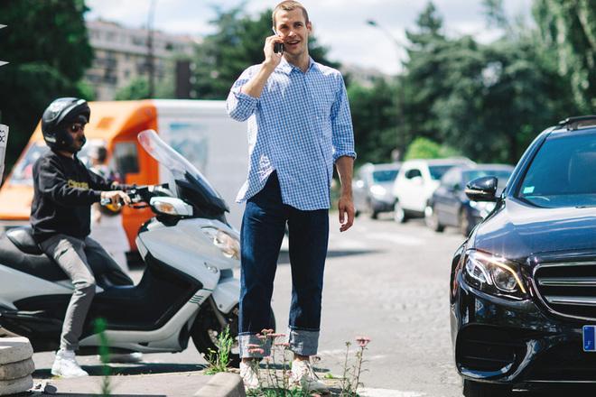 Мужская мода из Парижа