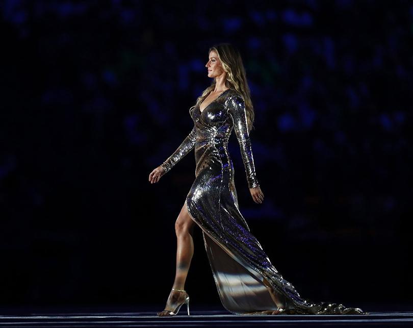 Жизель Бюндхем украсила олимпийские игры
