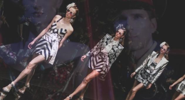 Осенняя Mercedes-Benz Fashion Week Russiа