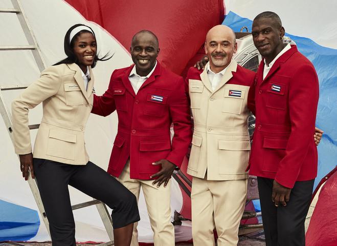 Олимпийские костюмы для кубинцев от Лубутена