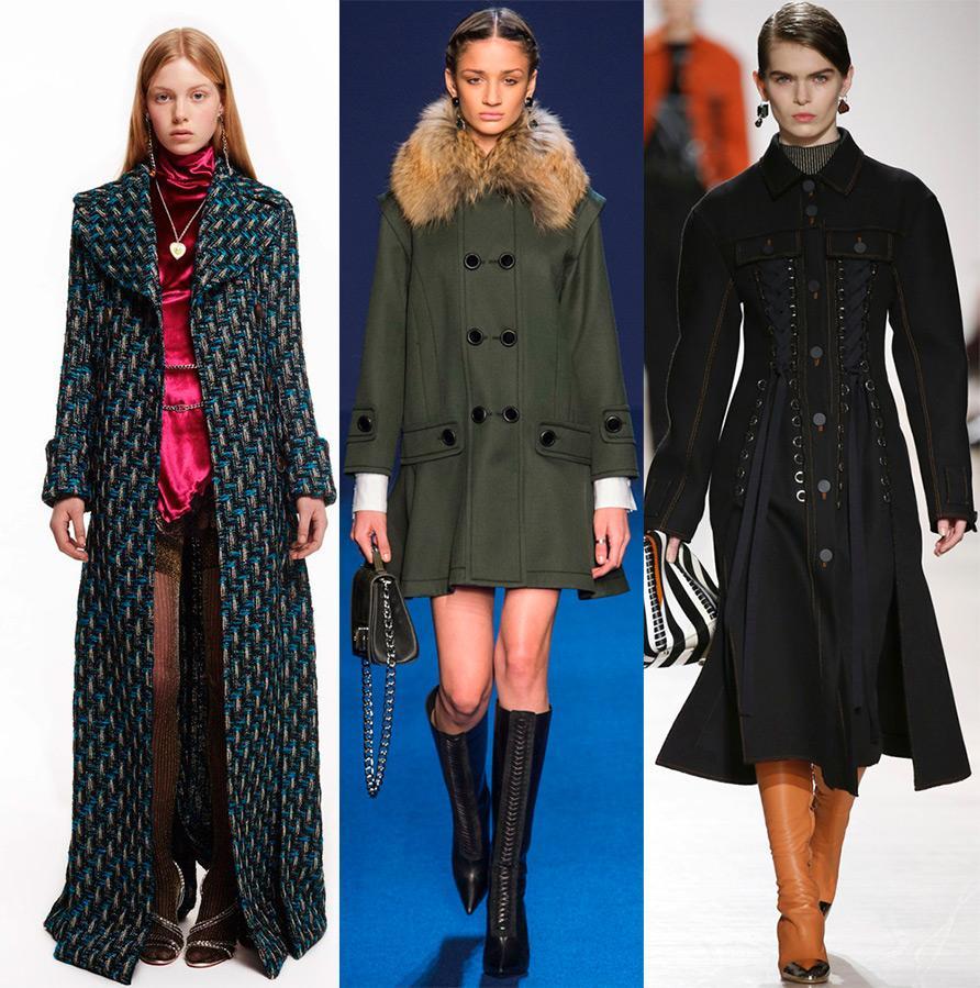 Какие пальто будут в моде этой осенью
