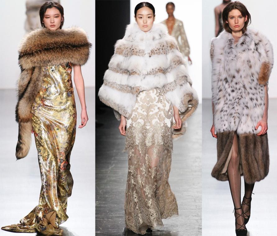 Роскошные платья и шубы от Dennis Basso