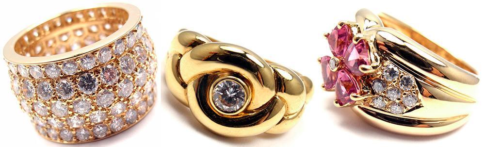 Желтое золото снова в моде