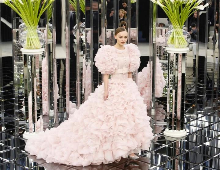 Chanel на парижском показе Весна 2017