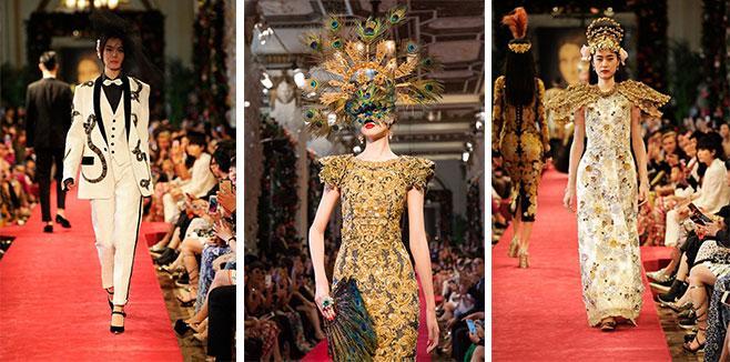 В Гонконге с успехом прошел показ новой коллекции Dolce & Gabbana
