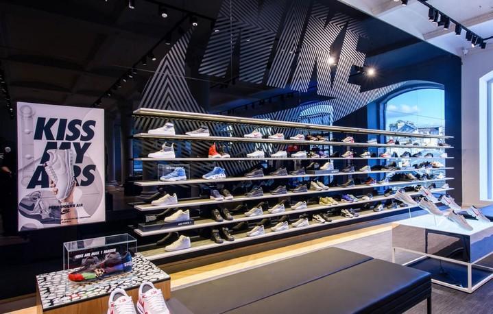 Nike открыл свой самый большой магазин в Европе