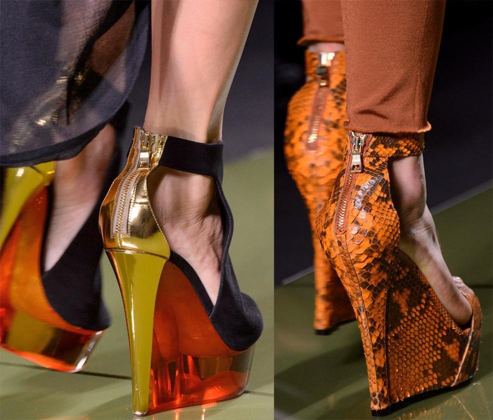 Обувь на платформе возвращается